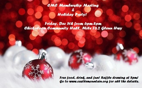 Annual Membership Meeting & Holiday Party