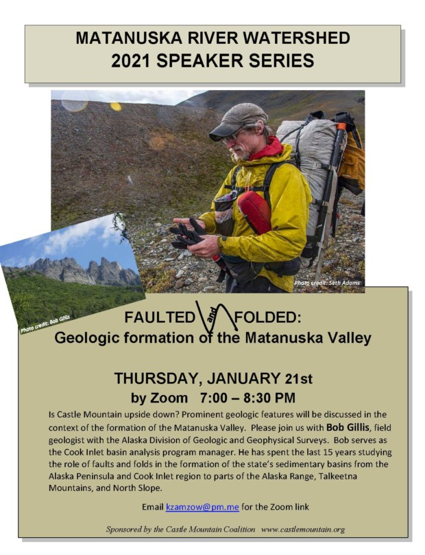 Faulted and Folded: geologic formation of the Matanuska Valley